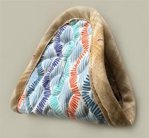 hexagon purse ヘキサゴンポーチ