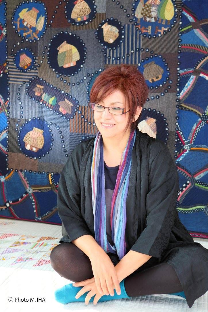 Felisa Nakazawa フェリーサ中沢humahuaca reina del patchwork Quilt パッチワークキルトのブリンセス colla humahuaca