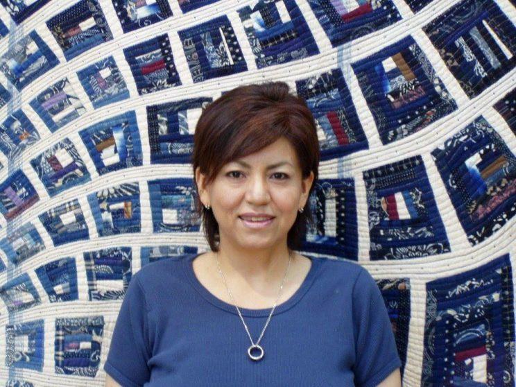 Felisa Nakazawa Reina de patchwork Quiltフェリーサ中沢 colla humahuaca