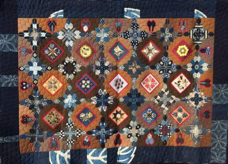 hexagon Quilt ヘキサゴンキルト 中沢フェリーサNakazawa Felisa Quilt Patchwork ミシンキルト パッチワーク