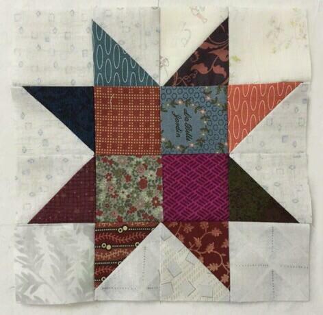 Star パッチワークパターン 流れ星JUKI中沢フェリーサNakazawa Felisa Quilts