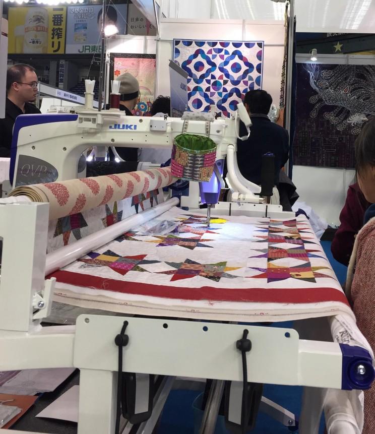 ミシンキルト #JUKI  patchwork Quilt