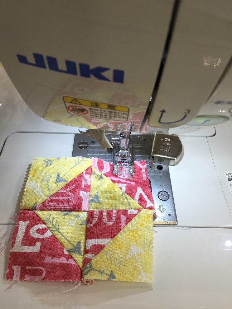 #JUKI  patchwork Quilt