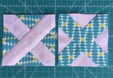 Crossroad quilt block クロスロードパッチワークキルト中沢フェリーサNakazawa Felisa Quilts