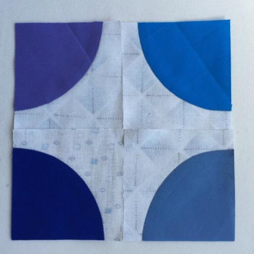 パッチワーク中沢フェリーサ nakazawa felisaパッチワークミシンキルト和キルトwa Quilt patchwork quilt扇子ナイルデルタFolding fanサークルキルト