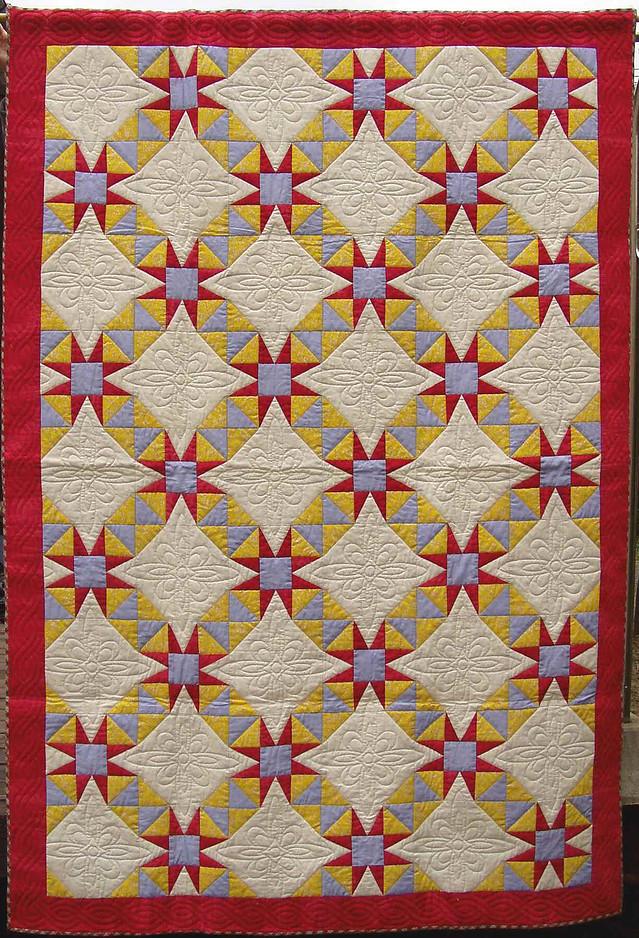 中沢フェリーサNakazawa Felisaスターキルトミシンキルトquilts japan Star Quilt