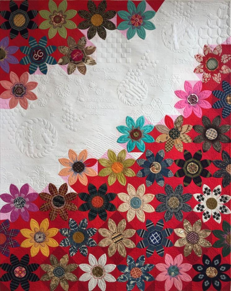 和キルト キルトの祭典 Festival of Quilts nakazawa felisaキルトで暮らしを彩る Quilt パッチワークミシンキルト Quilt 中沢フェリーサ JUKI 日本の和キルト100人展