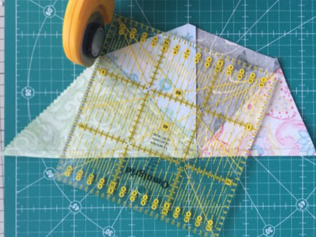 カレイドスコップキルト KaleidoscopeQuilt  中沢フェリーサ Nakazawa Felisa Patchwork  フォ パッチパターン modern quilt ミシンキルトFour patch Quilt block
