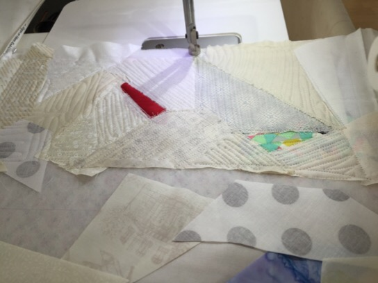 Boro Sashiko needlework bag Patchwork Quilt Nakazawa Felisa ボロ modern quilt 刺し子 パッチワーク キルト ミシンキルト 中沢フェリーサ バッグ