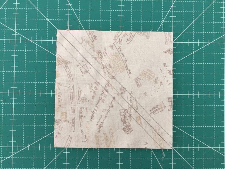 square tringle quilt block patchwork Quilt Nakazawa Felisa 中沢フェリーサ 四角 三角パッチワーク パッチワークミシンキルト