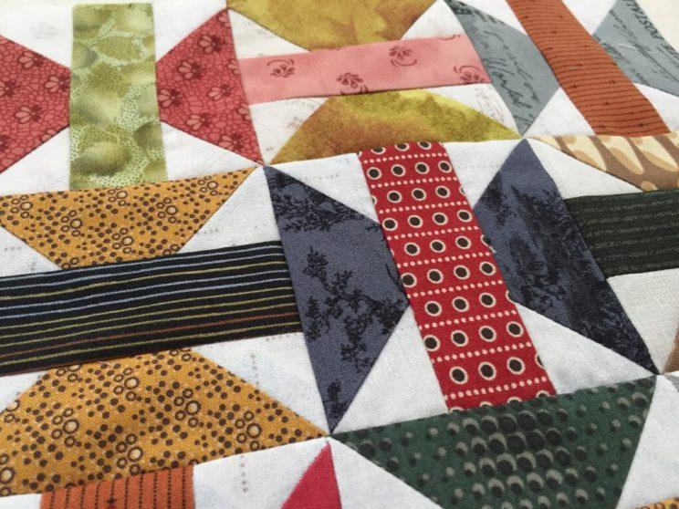 Beggar quilt block 乞食 こじき パッチワークミシンキルト patchwork Quilt Spool Quilt block スプールのパッチワークパターンnakazawa felisa中沢フェリーサ