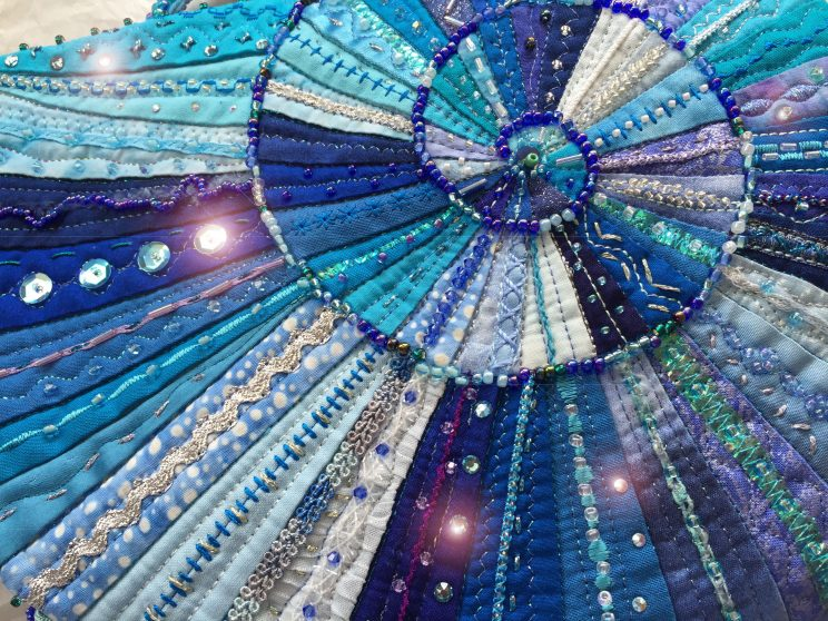 quilt&stitch show キルト&ステッチショー2016 Nakazawa felisa 中沢フェリーサ ミシンキルトパッチワーク bag amonite バッグ アンモナイト