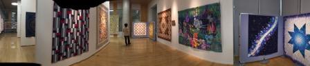 キルト展示会 パッチワーク ミシンキルト 中沢フェリーサ 木藤紀子 patchwork quilt exhibition Nakazawa Felisa