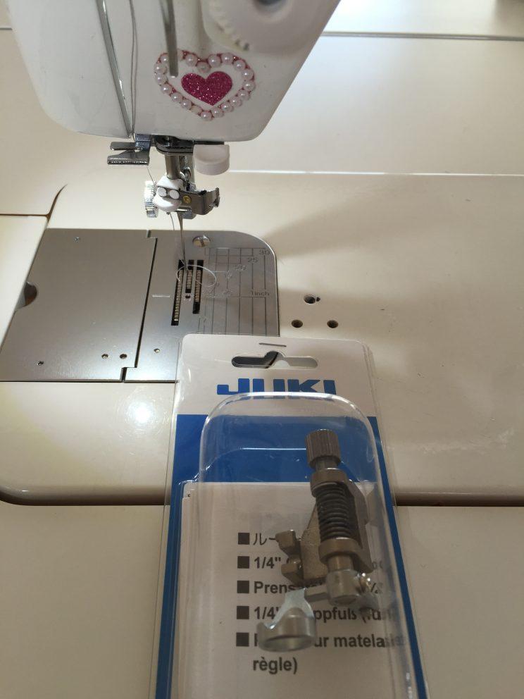 JUKI foot quilting home machine キルティング金具 中沢フェリーサNakazawa felisa patchwork quilt パッチワーク ミシンキルト