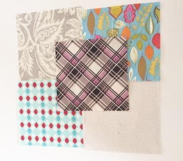ボウタイのパッチワークパターン modern quilt 中沢フェリーサパッチワークミシンキルト Quilt patchwork Bow Tie quilt block nakazawa felisa