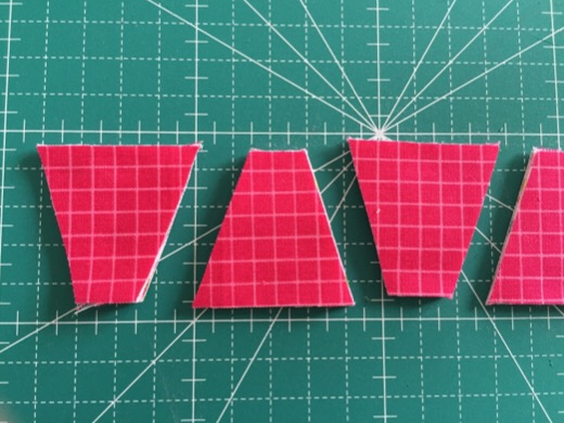 Dresden plate quilt ドレスデンプレート ミシンパッチワークキルト パッチワークパターン JUKI 中沢フェリーサ Nakazawa Felisa