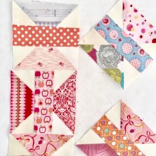 Beggar quilt block 乞食 こじき パッチワークミシンキルト patchwork Quilt nakazawa felisa中沢フェリーサ
