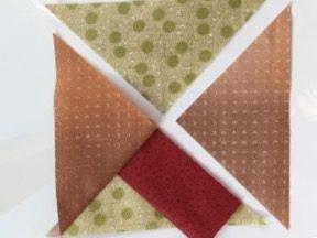 Spool Quilt block スプールのパッチワークパターン 糸巻きバッグ パッチワーク 中沢フェリーサ 糸巻きキルトnakazawa felis