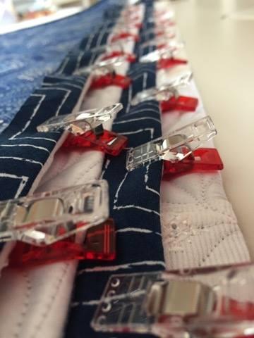 Quilt Hanging Sleeve 棒通しの作り方 パッチワークミシンキルト