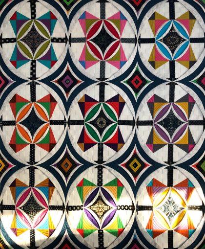 Cathedral window Quilt カテドラルウィンドウキルト